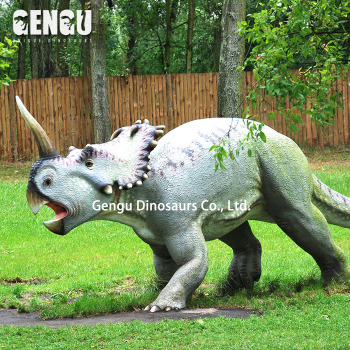Dinosaur Display Fiberglass Dinosaur Garden Decoration