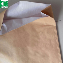 recycled pulp brown kraft paper used for cement bag produce