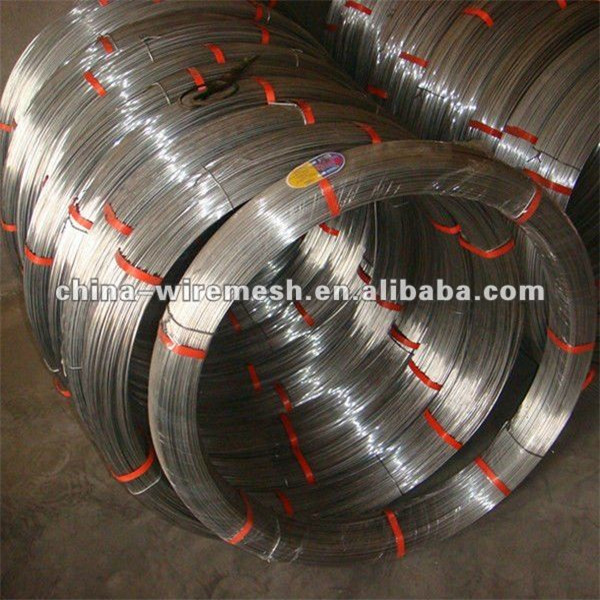 high carbon hot dipped galvanized oval wire cattle farm fence High tensile fence wire