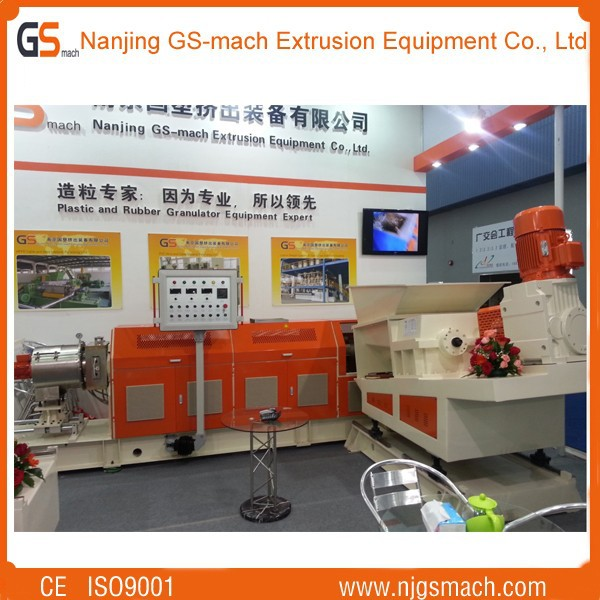 GS-75B TPU shoe sole material twin screw extruding machine
