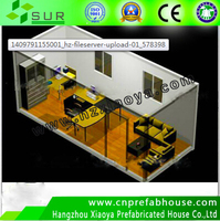 High Quality Prefabricated Office Container Home /20ft economiacal used Container home for sale