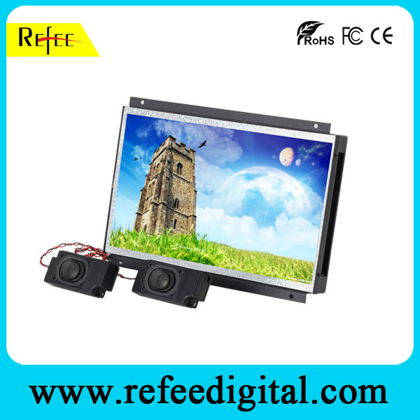 "12"" open frame lcd digital restaurant menu display"