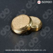 Sintered powder brass bronze air conditioner muffler