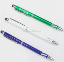 personalized logo brand promotional metal touch ball pen