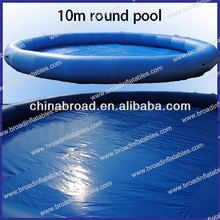 Best quality customized size 0.9mm pvc inflatale pool island