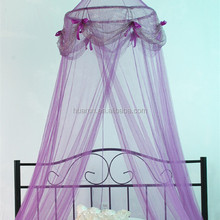 queen bed canopy mosquito net with pop up stainless steel ring