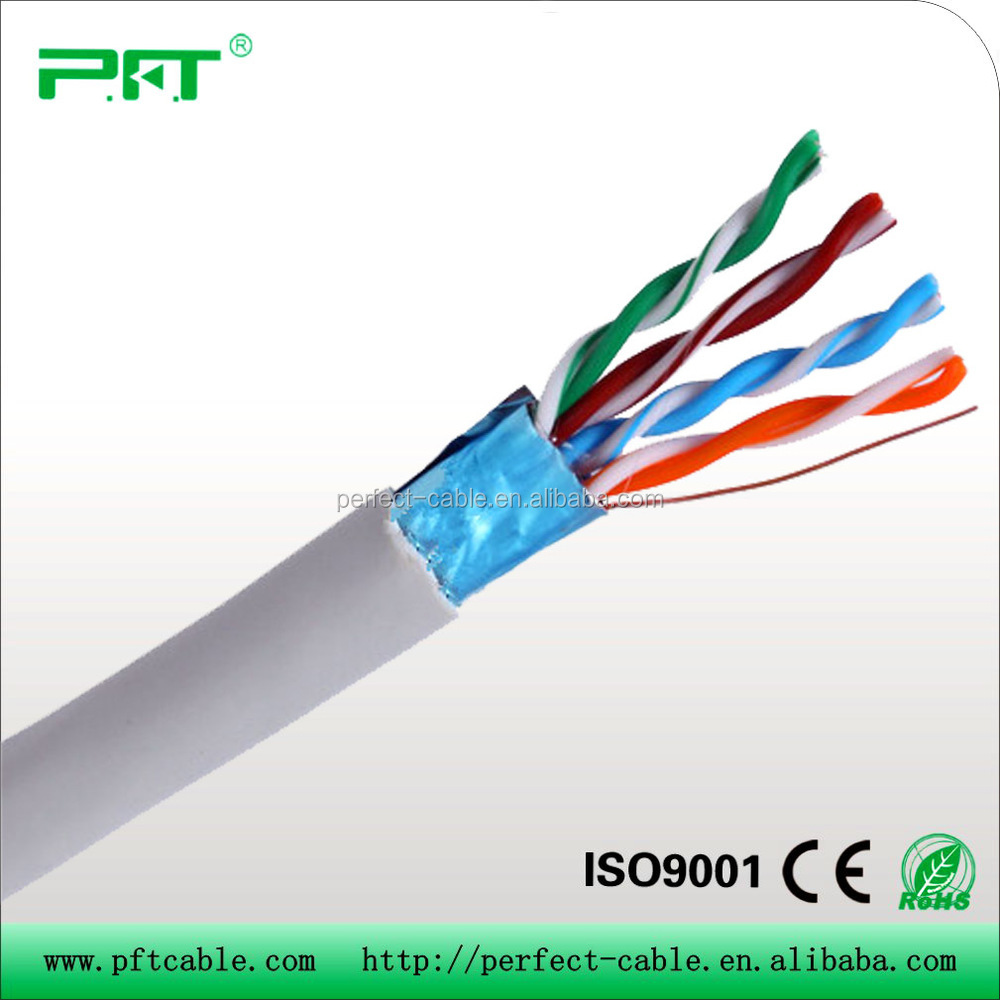 High quality UTP/FTP/SFTP Cat5e and 100 pair underground jelly filled telephone cable from China direct manufacturer