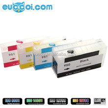 For HP 950xl 951xl refill cartridge compatible 950 refillable ink cartridge with chip for HP 8100 8600 PLUS printer