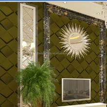 color green material 3d Islamic wallpaper