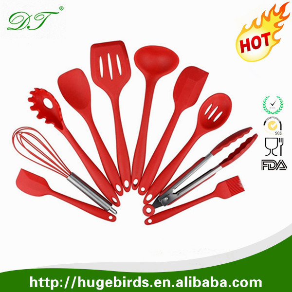 OEM manufacturer custom silicone rubber kitchen utensils