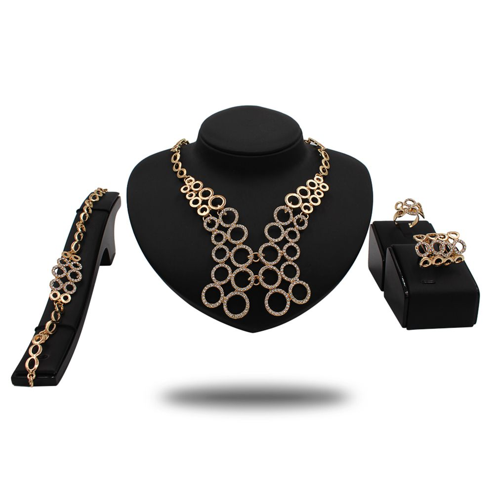 Women fashion jewelry set stainless steel magnetic jewelry sets