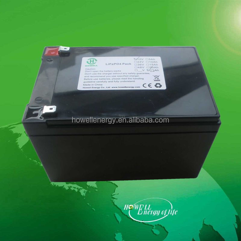 boat battery 12V 12ah lifepo4 Battery pack for electrical boat