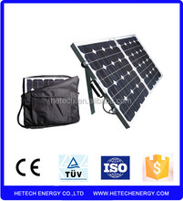 High quality sunpower folding solar panel 140w with best price