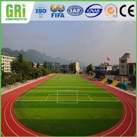 Green Football Artificial Grass