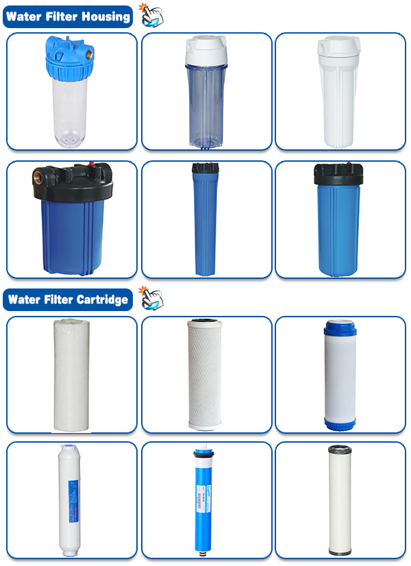 GAC water filter cartridge