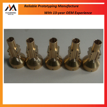 Custom precision cnc machining brass parts service