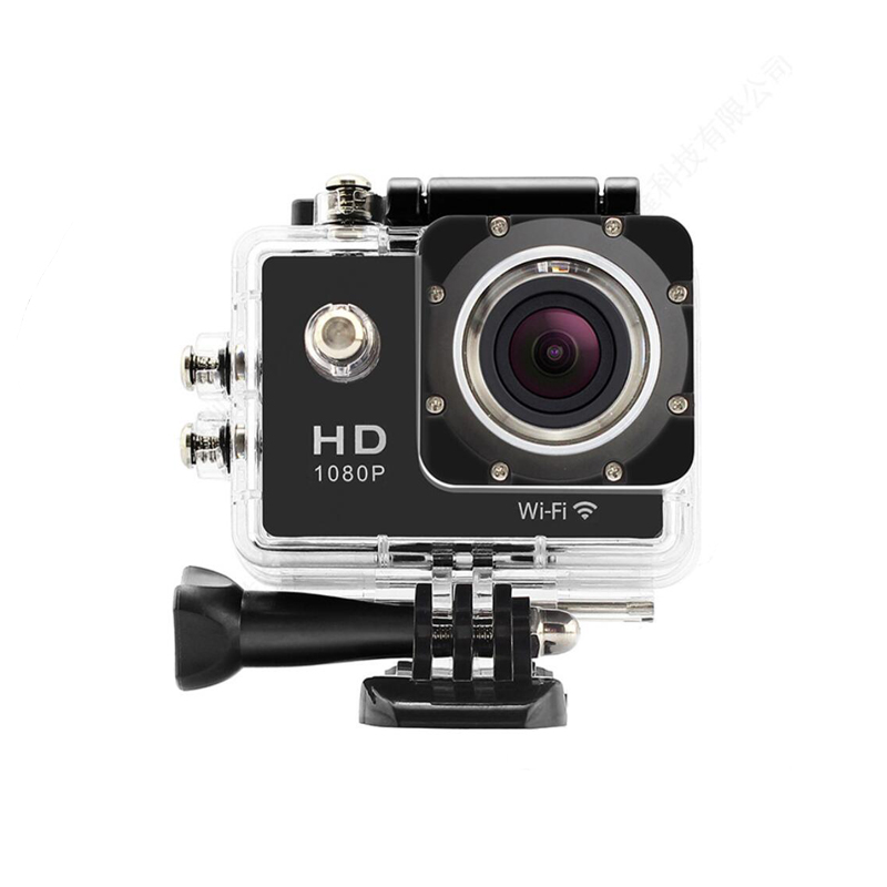 HD 1080p Wifi Sport DV Camera with Battery for Action Record