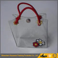 Beautiful Eco Recycled PVC Jelly Tote Bag With Engrave Logo on Puller