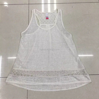 Hot sale top quality tank top new fashion design vest for ladies