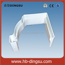 Direct Factory Price plastic 5.2inch pvc gutter joiner for pvc gutter