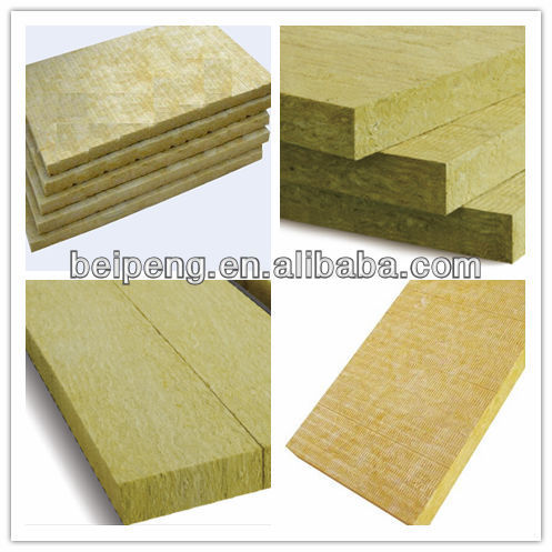 Bp 5 fire proof density30kg m3 thermal rock wool board 3 mineral wool insulation