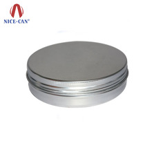 Custom Empty Metal Can 100g Tablet Capsule Pill Packaging Tin Box Wholesale Portable Small Round Aluminum Metal Tin Pill Case