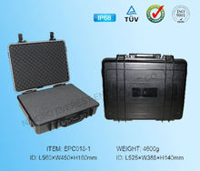 Hard ABS plastic waterproof equipment case for hardware