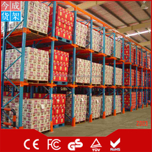 Wholesale multilayer heavy duty long span warehouse storage rack for display room storage