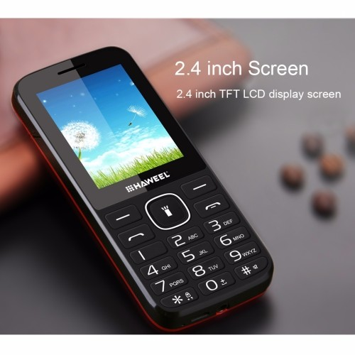 In Stock! Low Price China Mobile Phone BUY 10 Get 1 FREE Cell Phone Haweel X1 Phone with English Keyboard, etc.
