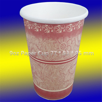 AnQing city AnHui Province graceful look custom printed paper coffee cups malaysia