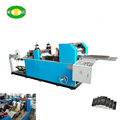 Pocket size handkerchief tissue making machine