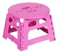 PP plastic household portable small seat/high quality foldable step stool/kids folding step stool