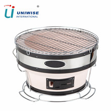 Korean & Japanese Style Portable BBQ Barbecue Charcoal Yakatori Grills for Indoor & Outdoor Kitchen Cooking Equipment