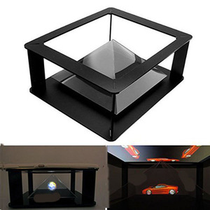 smartphone projector holographic 3d display holographic 3d pyramid