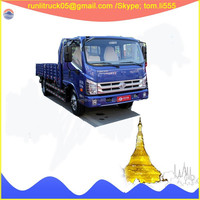 Commercial vehicle manufacture direct sale for BJ1093VEPEG-V6 foton forland 6 wheels 10 tons light dump truck sale