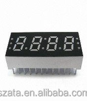 0.56 inch 4 digit red 7 segment led display module