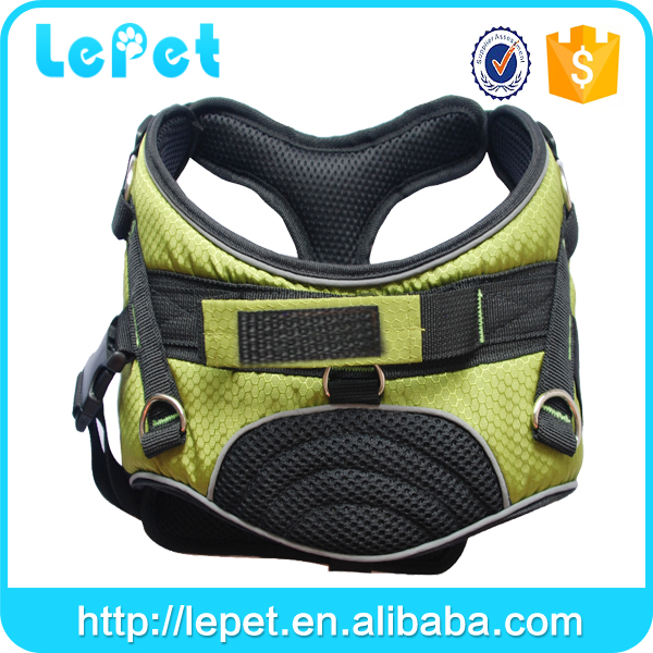 professional manufacture outdoor Training Walking Running dog leash harness