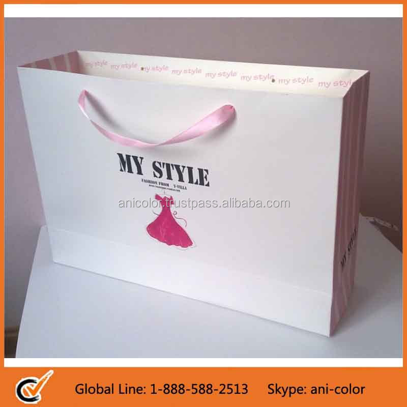 wholesale OEM production customized paper bag