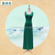popular women dress, Fashion maxi Dress blank t-shirt dress