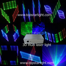2016 Full Color Rgb 3d Laser Light 500mw DMX programmable laser lights
