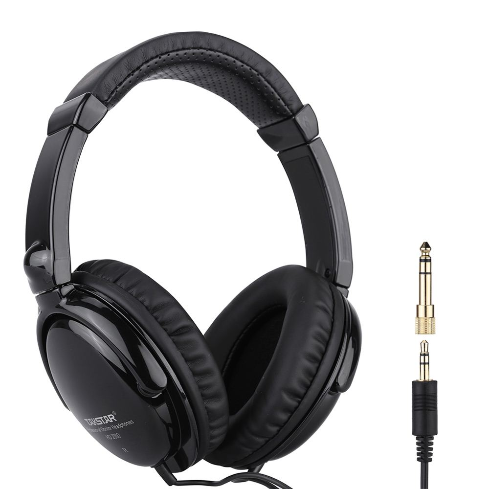 Takstar HD 2000 Wired Stereo Dynamic Monitor Headphone Headset for Guitar PC Computer CD Player Walkman MP3 MP4 Earphone