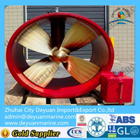 Electric Driven Tunnel Thruster/Hydraulic Driven Bow Thruster