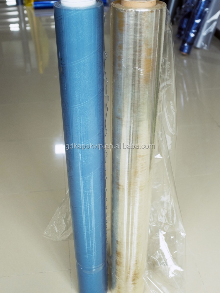high quality pvc self adhesive film plastic sheet /pvc stretch film rigid pvc film
