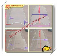 Cheap motorcycle windscreen-6 high quality motorcycle parts motorcycle windscreen