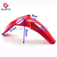 CRF Front Fender Motorcycle Plastic Front Fender Dirt Bike PP Plastic Fender Front Mud Guard Mudapron Suitable to Honda CRF 450