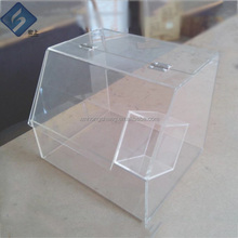 Nice Design Clear Acrylic Breads / Cakes / Cookies / Dessert Display Shelves in Baking Shop