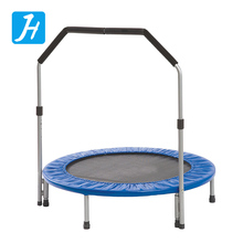 Premium Trampoline Fitness Trampolines Mini Exercise Trampoline Workout Cardio Training Pro Quarter Folding Jumping Bed Rebounde