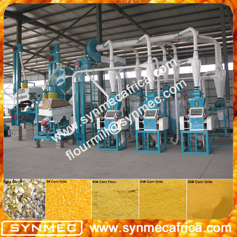 small scale maize milling machine/maize flour grits miller/low price maize miller