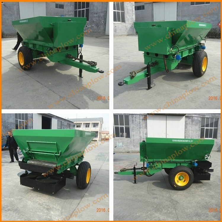 Broadcast Spreaders For Tractors : Farm machinery tractor fertilizer spreader with pto driven