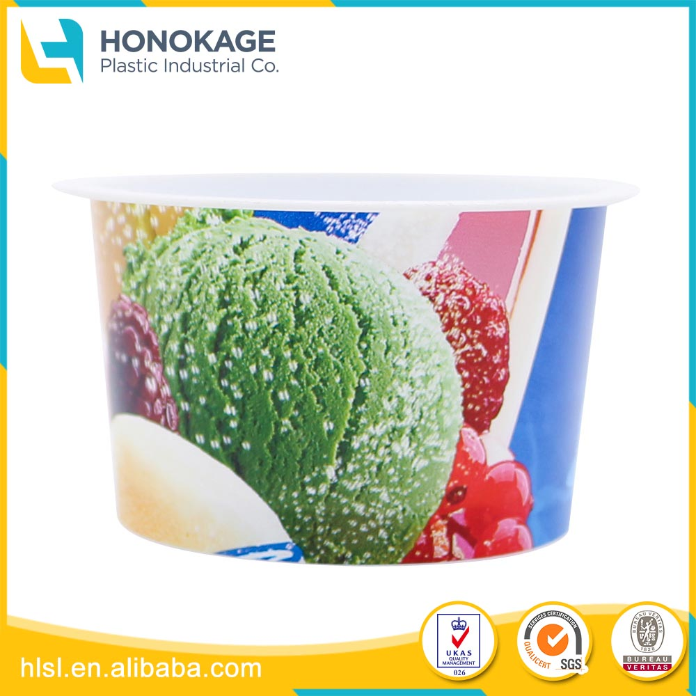 China Wholesale Cheap Price iml plastic yogurt tubs